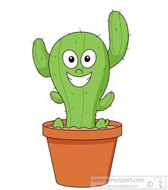 Cartoon mexican character illustration. Cactus clipart animated