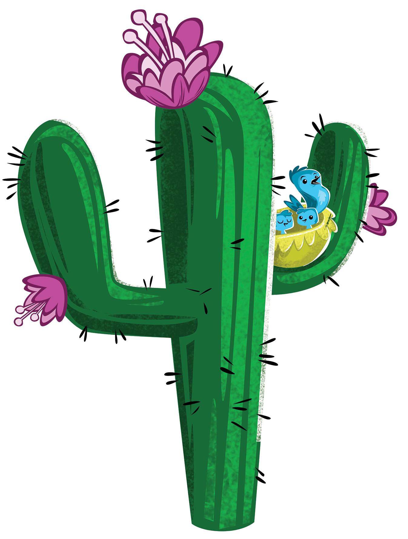 Cactus clipart cartoon. Free images clipartix