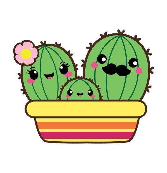 bd d e. Cactus clipart cartoon