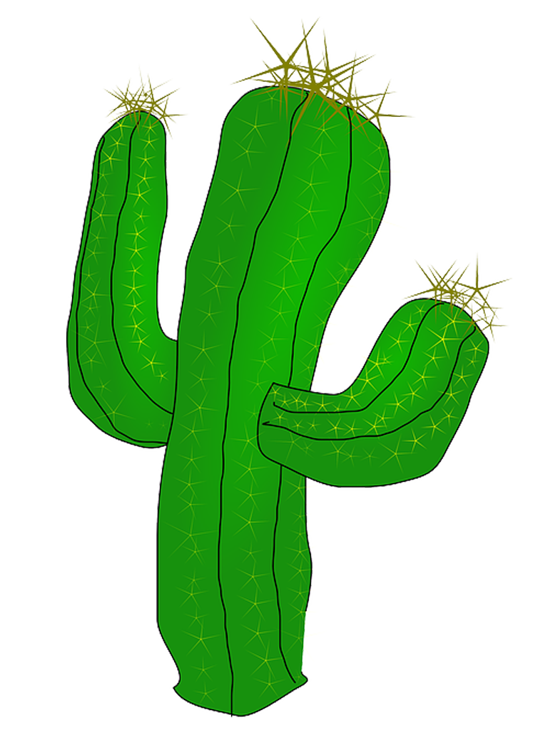 Tree clipart cactus. Free images best icons