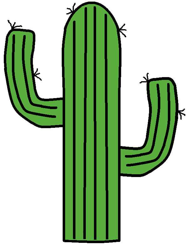 Sunset clipart rayleigh scattering. Cactus transparent png free