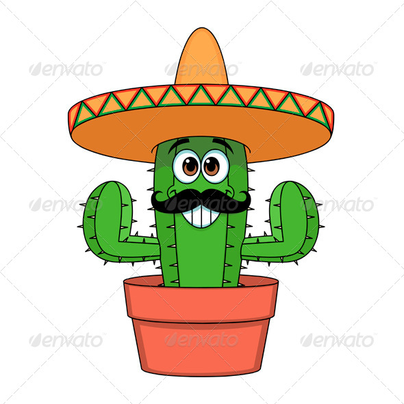 Cartoon images moon hatenylo. Cactus clipart face