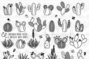 Cactus clipart hipster. Llama and illustrations creative