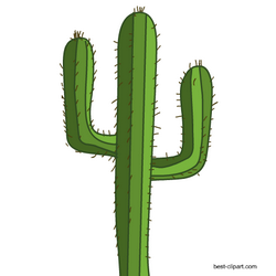 Free image wild west. Mexican clipart cactus
