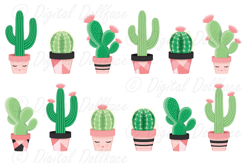 Potted cactus clip art. Succulent clipart