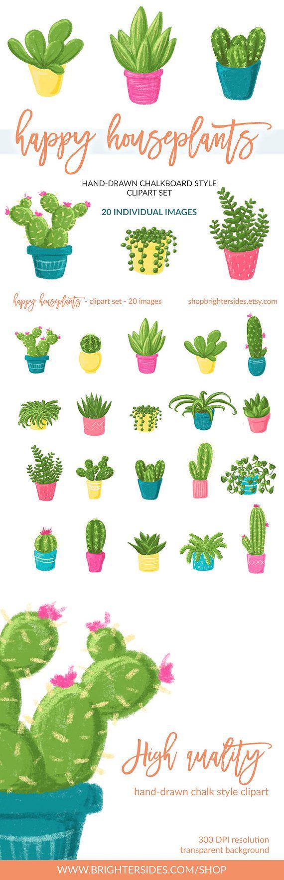 Cactus clipart summer. Plant succulent clip art