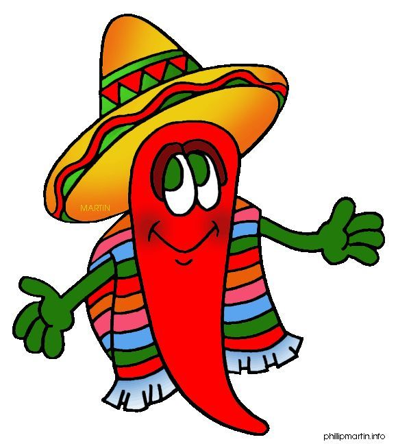 Clip art of kids. Mexican clipart