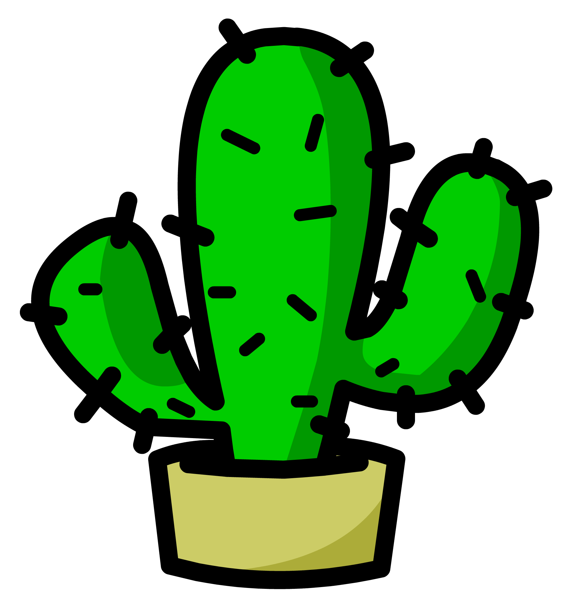 Clipart tree cactus. Png image free picture