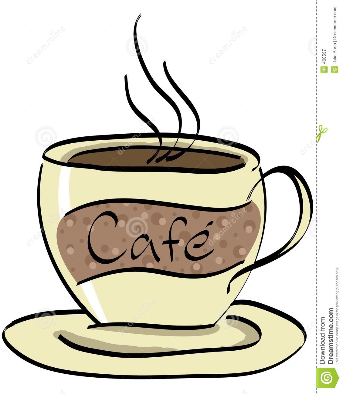 Caf station . Cafe clipart