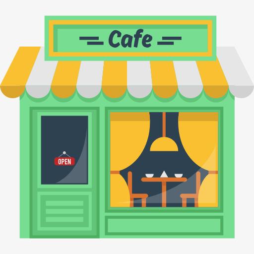 Cafe clipart. Portal