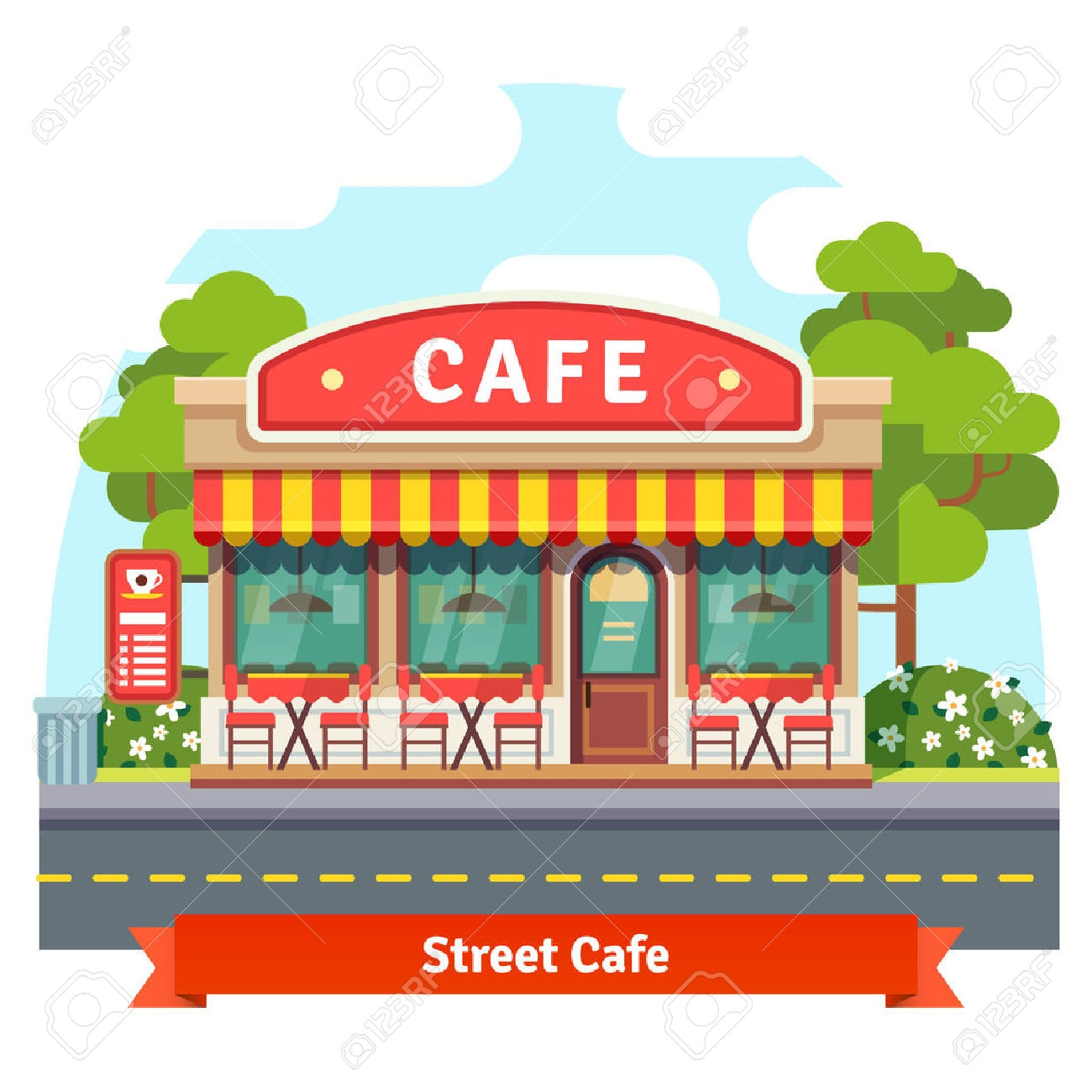 Awesome collection digital o. Cafe clipart