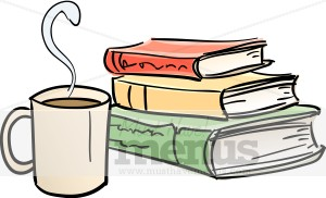 Cafe clipart. Bookstore