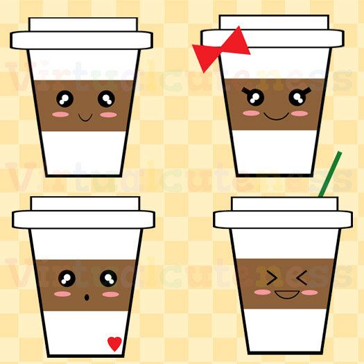 best coffee theme. Cashier clipart happy