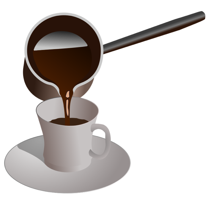 Coffee tea and graphics. Clipart cup animated