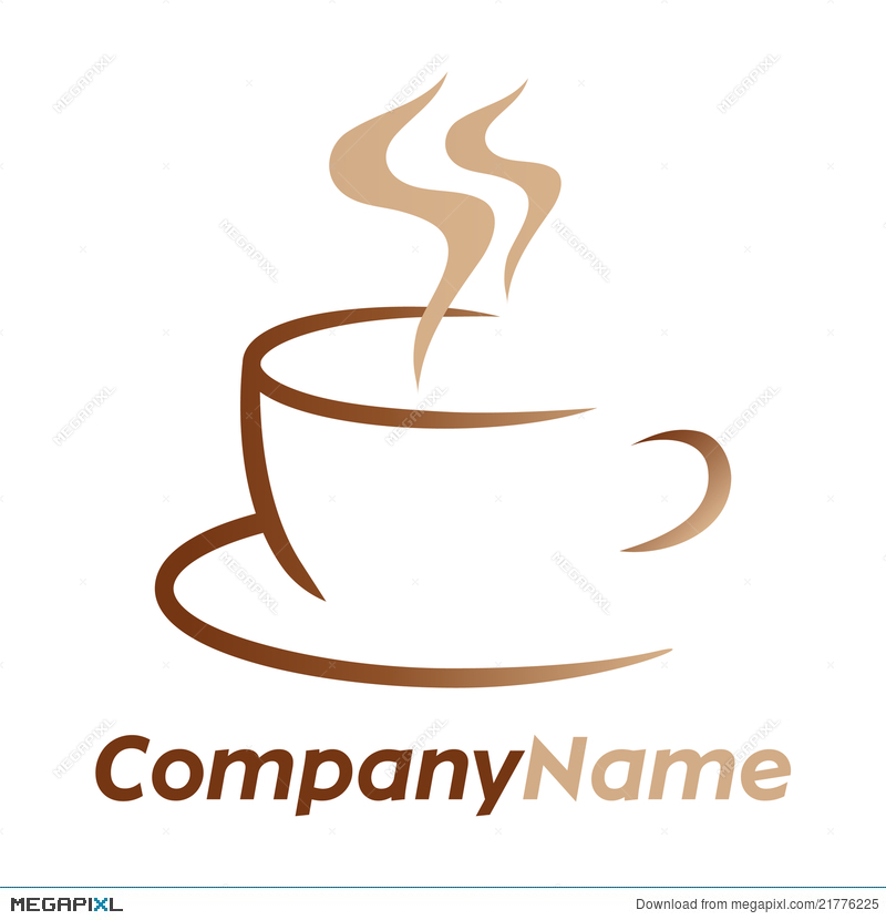 Cafe clipart aroma. Coffee icon and logo