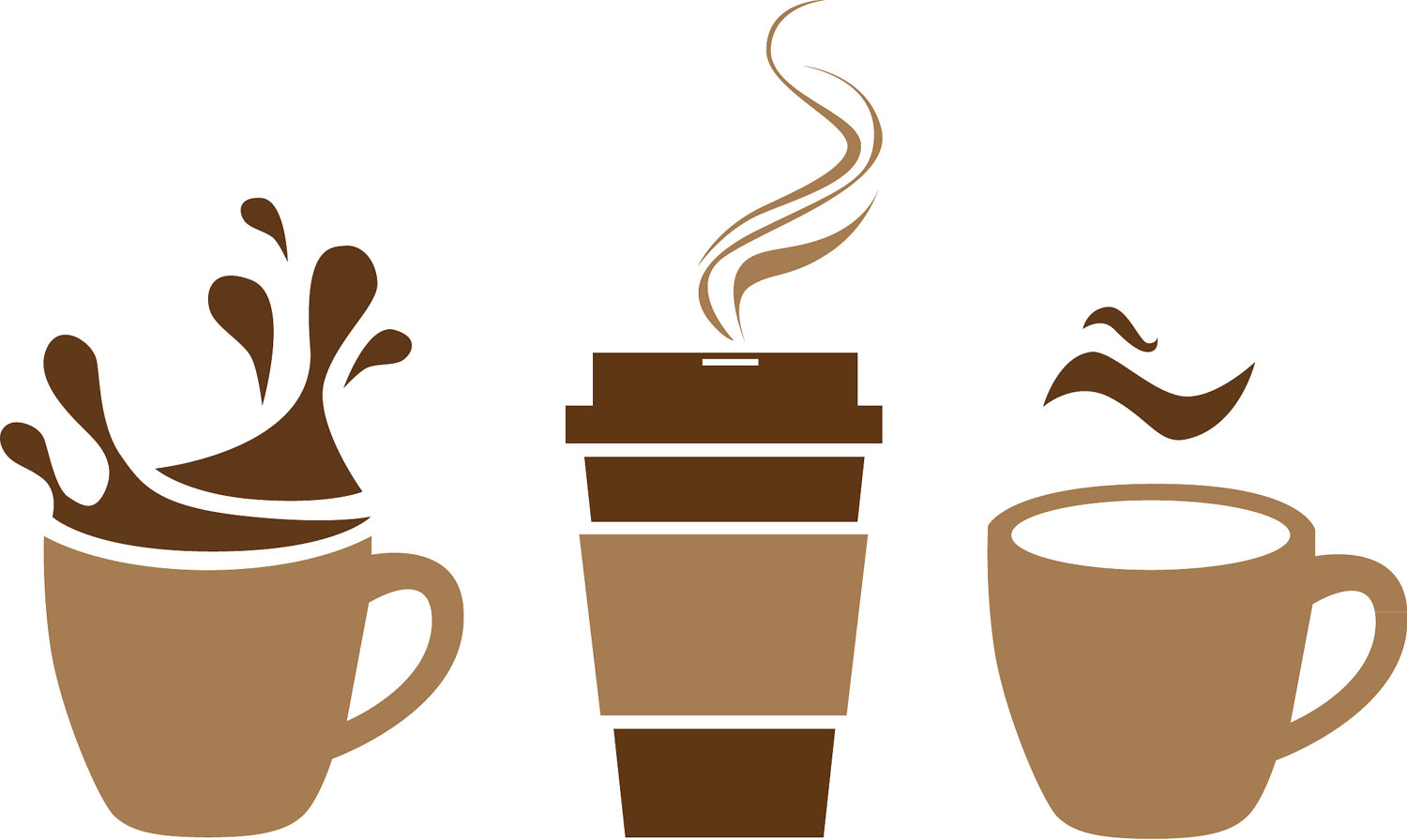Graphic free download best. Cup clipart brown coffee mug