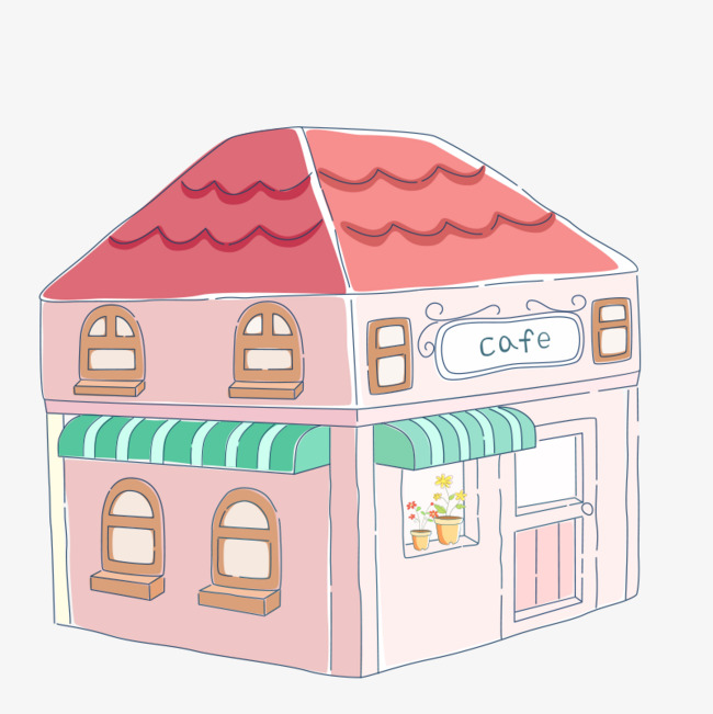 Cafe clipart cafe background. Pink image coffee picture
