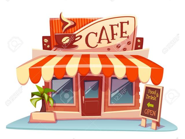 Brand cliparts free download. Cafe clipart cafe building