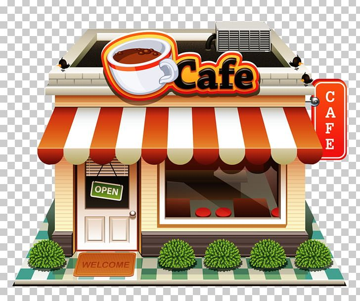 Bakery coffee png . Cafe clipart cafe building