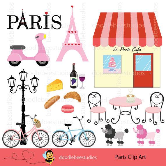 Cafe clipart cafe paris. Clip art eiffel tower