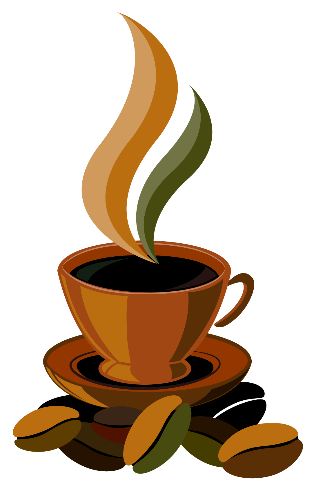 Cup png vector gallery. Clock clipart coffee