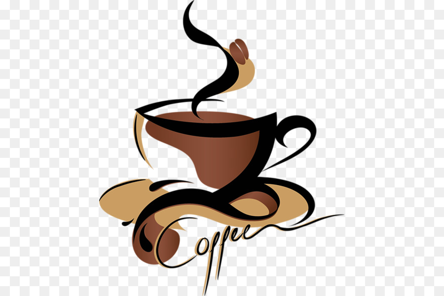 Coffee clipart clear background. Tea espresso cafe clip