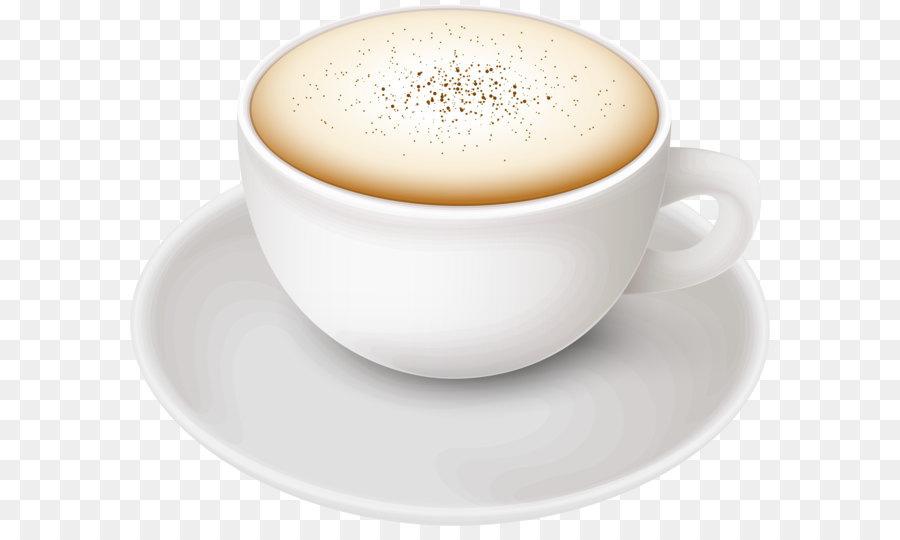 Doppio cappuccino ristretto cuban. Latte clipart