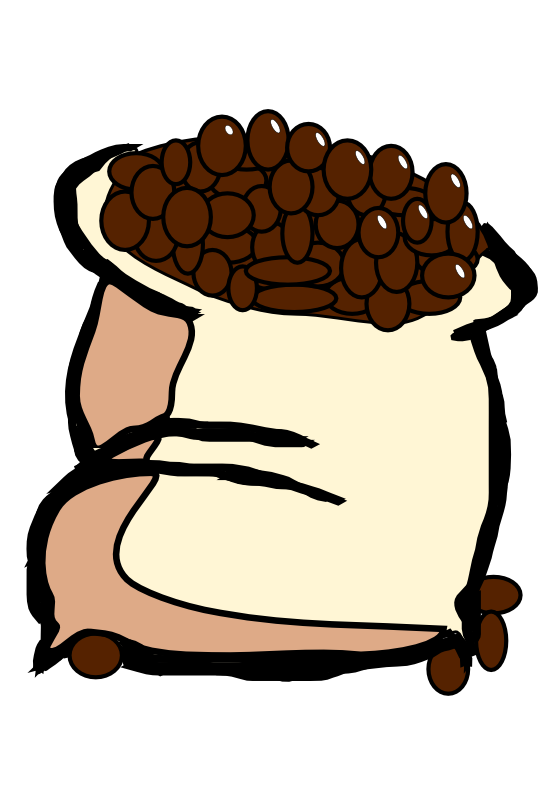 Beauteous coffee bean free. Grains clipart animated