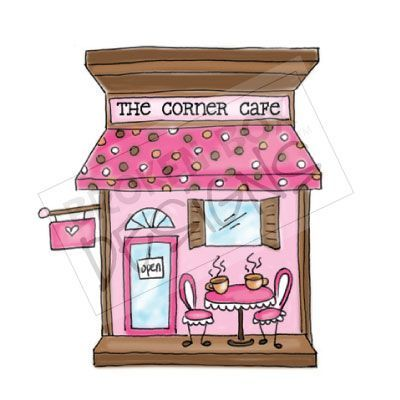 Cafe clipart coffee shop.  best scrapbook and