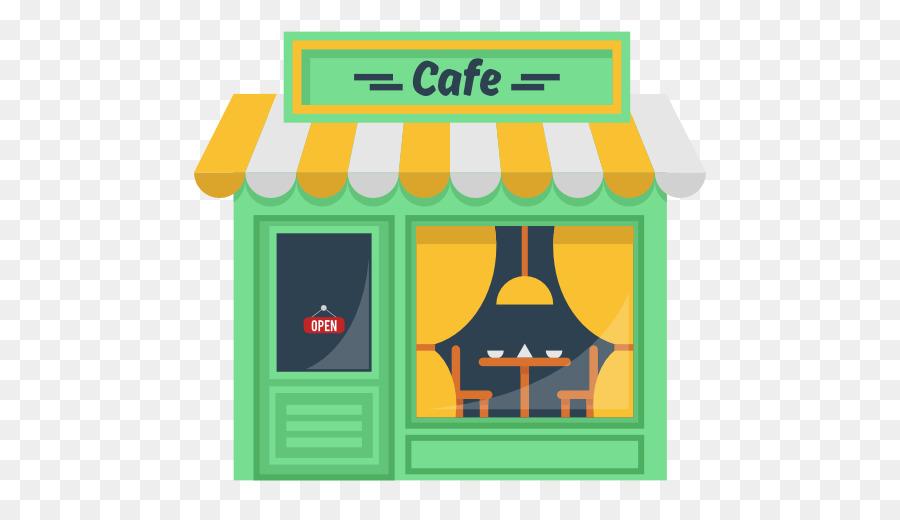 Cafe clipart coffee shop. Green restaurant transparent
