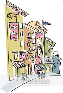 Cafe clipart french cafe.