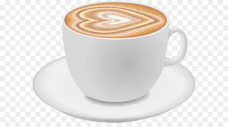 Cappuccino white coffee ristretto. Cafe clipart latte