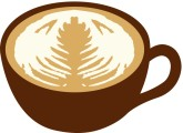 Cafe clipart latte. Customize clip art and