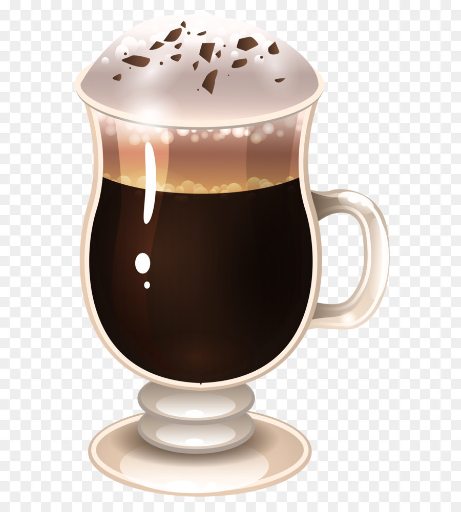 Cafe clipart latte. Macchiato coffee cappuccino tea