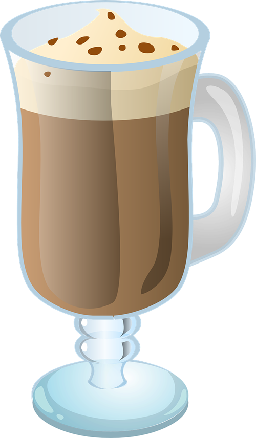Cafe clip art library. Clipart coffee latte