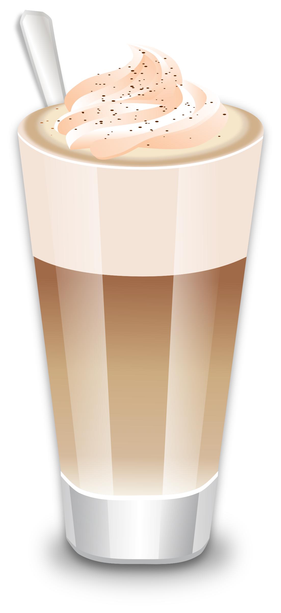 Cafe big image png. Latte clipart