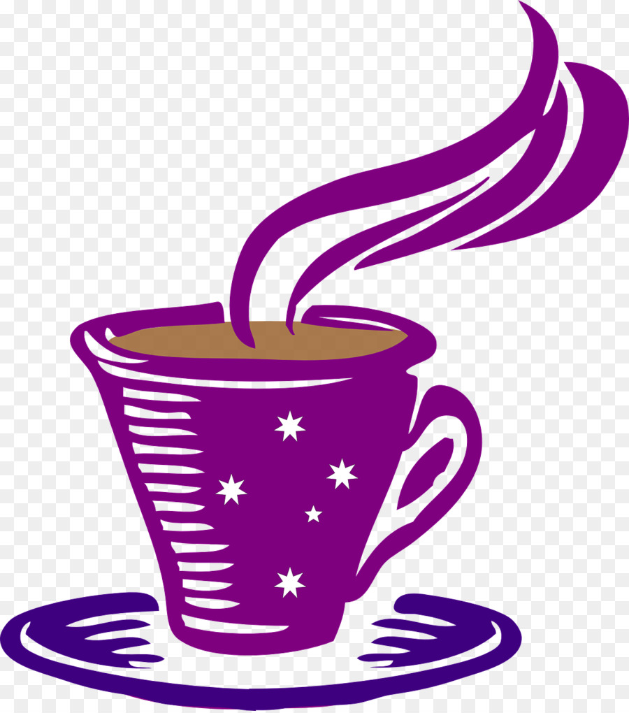 Coffee tea hot chocolate. Cafe clipart line art