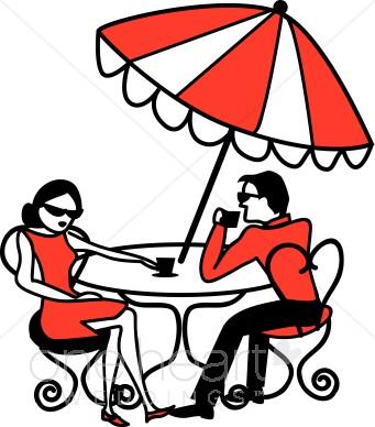 Cafe clipart line art. International honeymoon
