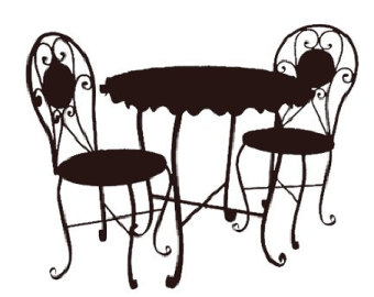Cafe clipart patio. Free cliparts download clip