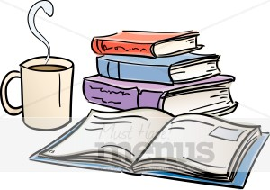 Bookstore. Cafe clipart reading cafe