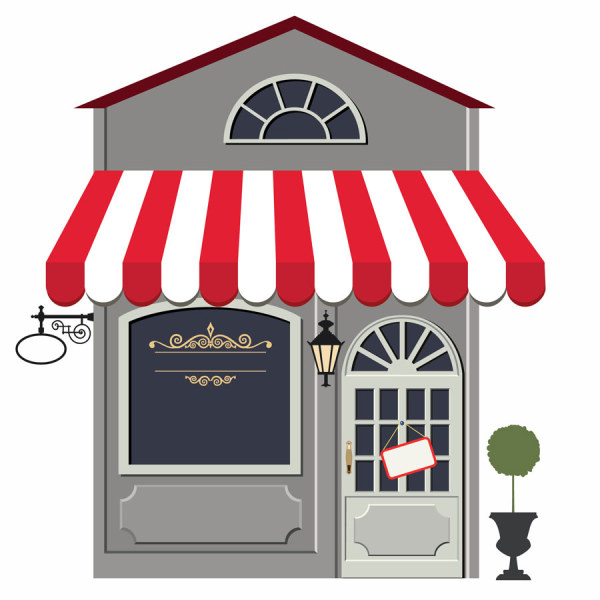Cafe clipart restaurant french. Building clip art library