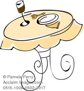 Clip art image of. Cafe clipart small restaurant