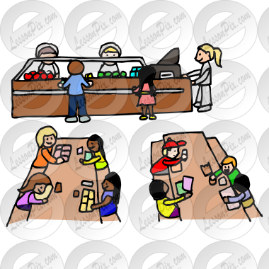 Picture for classroom therapy. Cafeteria clipart