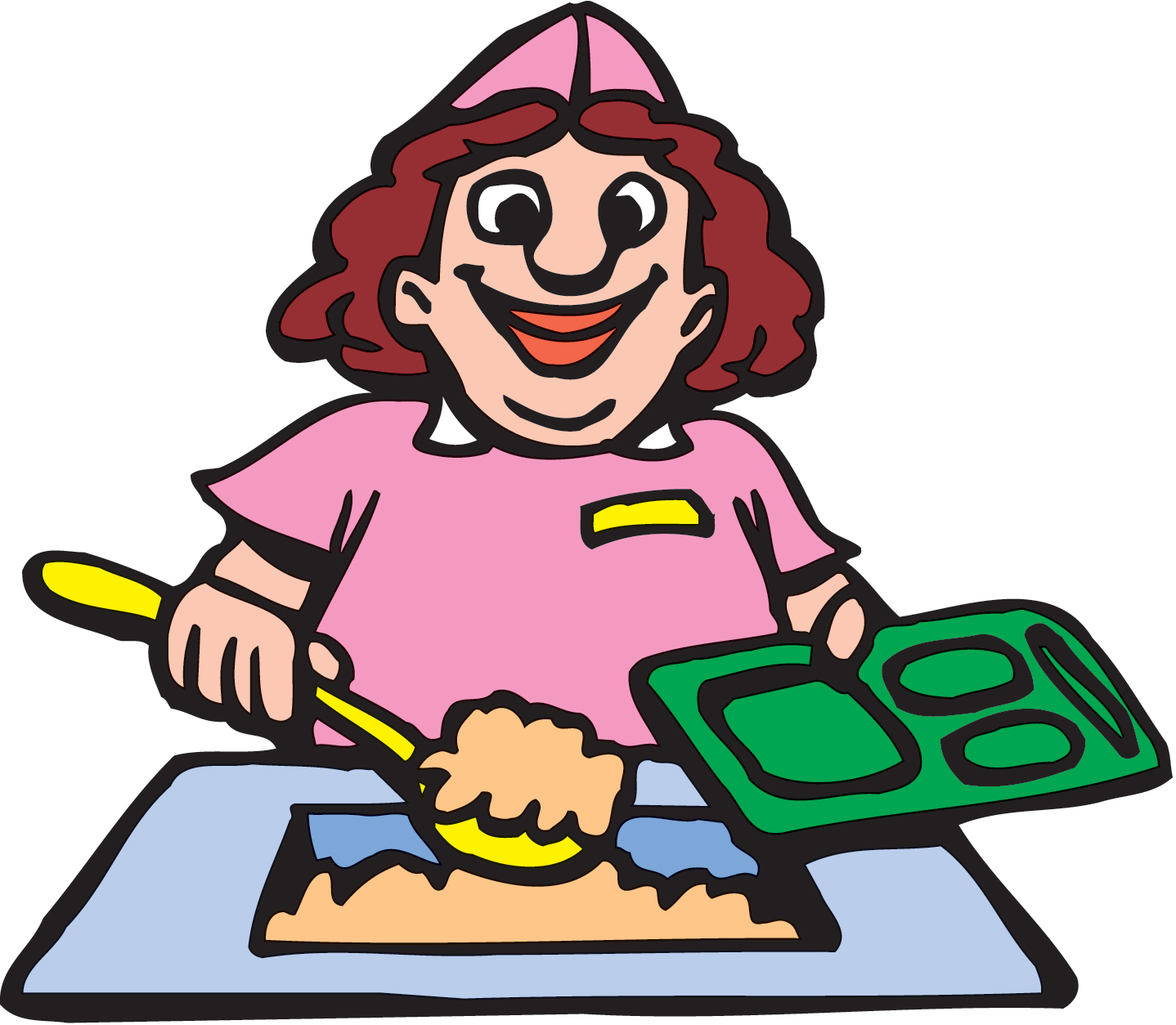 luncheon clipart lunch order