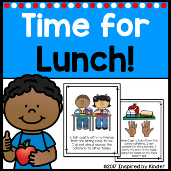Lunch rules and routines. Cafeteria clipart behavior