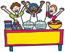 Lunch clipart cafeteria worker. School menu free download