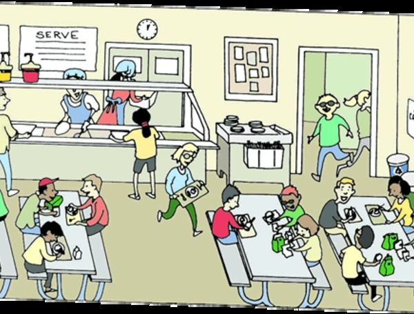 Cafeteria clipart cartoon. Clip art for students