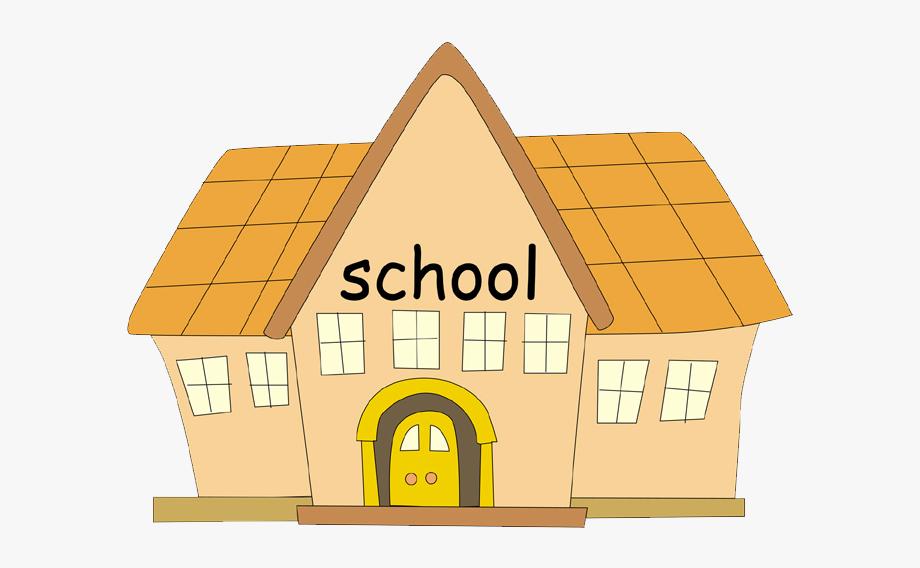 School facility transparent . Cafeteria clipart cartoon