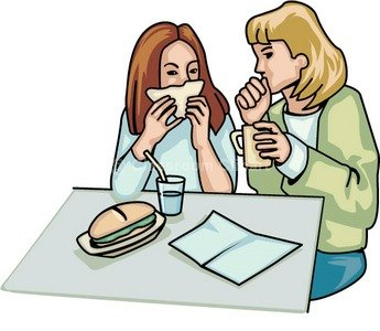 Cafeteria clipart cartoon. Office cliparts zone lunch