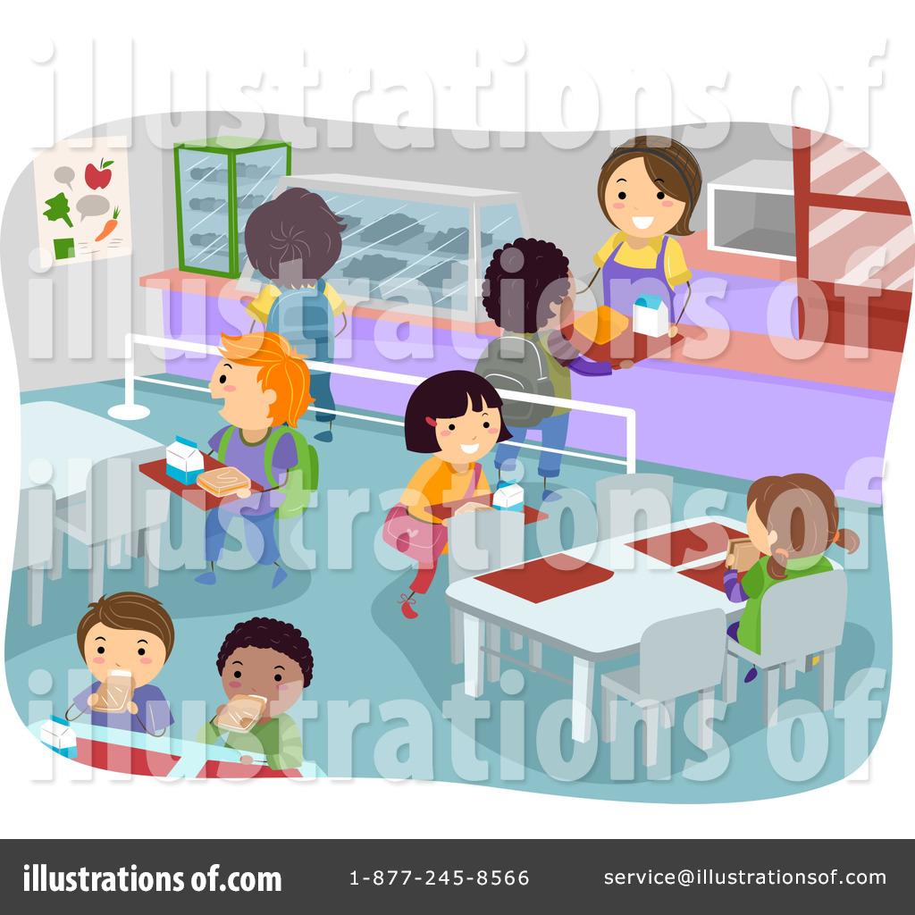 Cafeteria clipart child. Illustration by bnp design